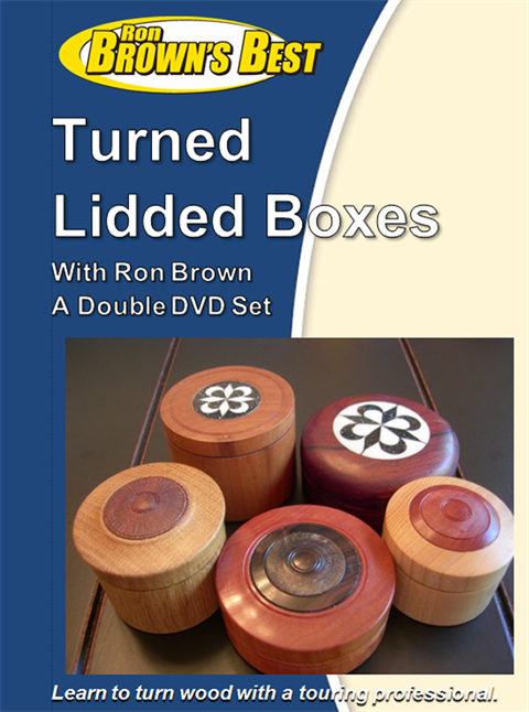 Turned Lidded Boxes DVD 1-2