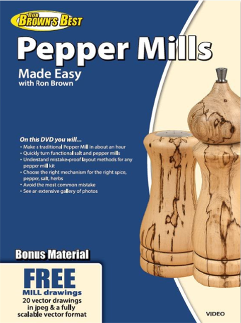 Pepper Mills Made Easy DVD